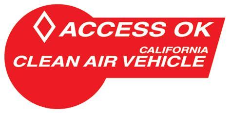 high occupancy vehicle hov lane access clean vehicle