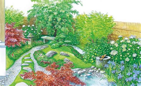 Kleiner Garten Japanisch Gestalten by Kleiner Garten Im Japan Oder Landhausstil Kleiner