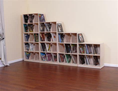 Record Album Storage Cabinet With Stylish Record Album