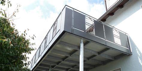 balkonbau auburger stahl anbaubalkone balkonanbauten