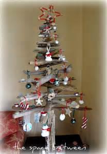 diy driftwood christmas tree with homemade ornaments pinterest christmas trees homemade