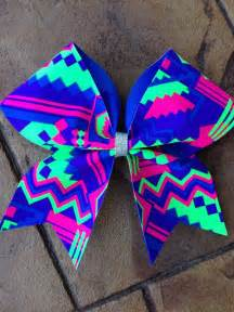Aztec Lighting by Aztec Cheer Bow From Thecopperpixy On Etsy Bows