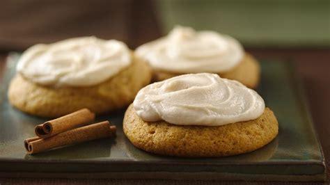 pumpkin cookies  browned butter frosting recipe