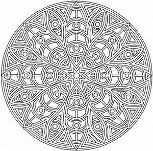 Coloriage De Mandala Difficile Gratuit.Mandala Facile A Faire 1001 Id Es Et Techniques Pour Faire Un