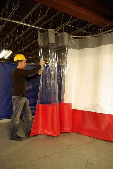 Barrier Drapes - top benefits of steelguard barrier curtains steel guard