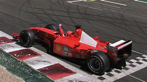 At scales 1/43 and 1/18. Schumacher's 2001 Ferrari F1 for sale as contemporary art