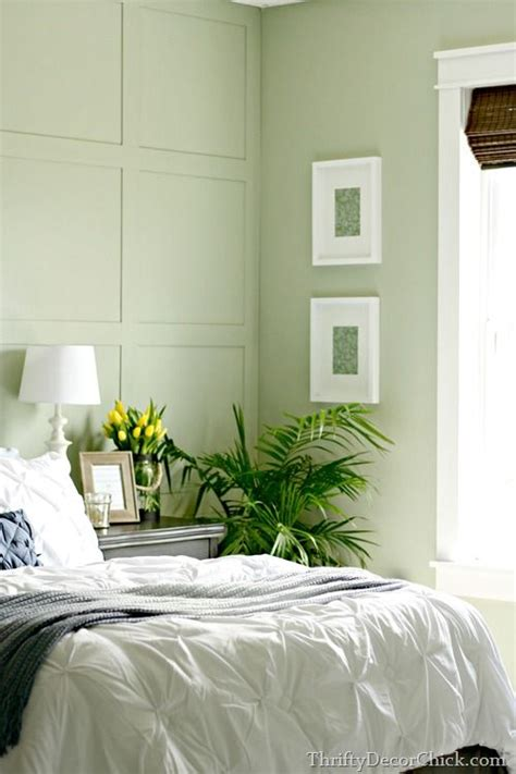 softened green sherwin williams bedroom pinterest