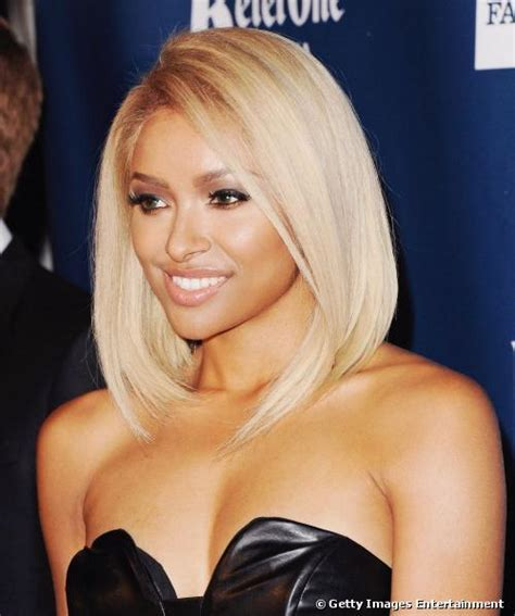 Kat Graham dye her hair PLATINUM BLONDE   Instyle Fashion One