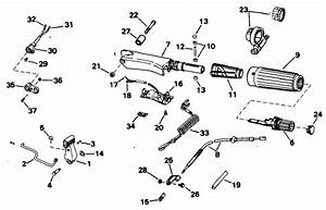 Evinrude Steering  U0026 Shift Handle Parts For 1994 15hp