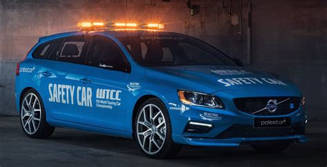 volvo official volvo v60 polestar becomes official wtcc safety car
