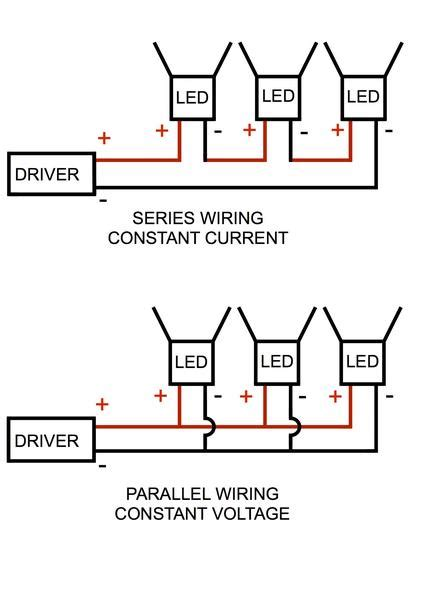 Wireing Diagram Parallel And Series Wiring by Wiring Diagrams Light Visuals