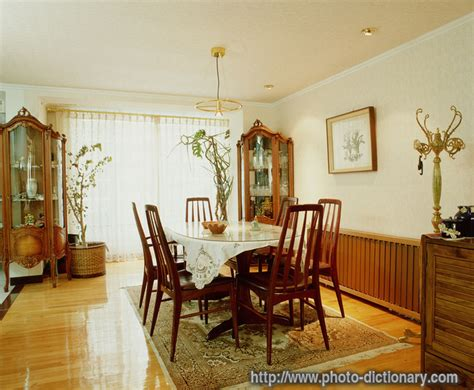 Dining Room  Photopicture Definition At Photo Dictionary