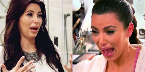 emotional kim kardashian moments  caught  camera emotional kim kardashian