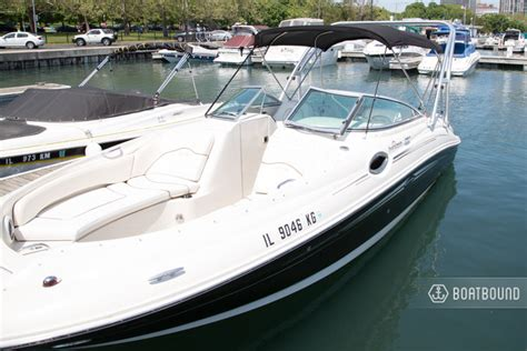 How Does Boatsetter Work rent a 2009 26 ft sea boats 240 sundeck in chicago