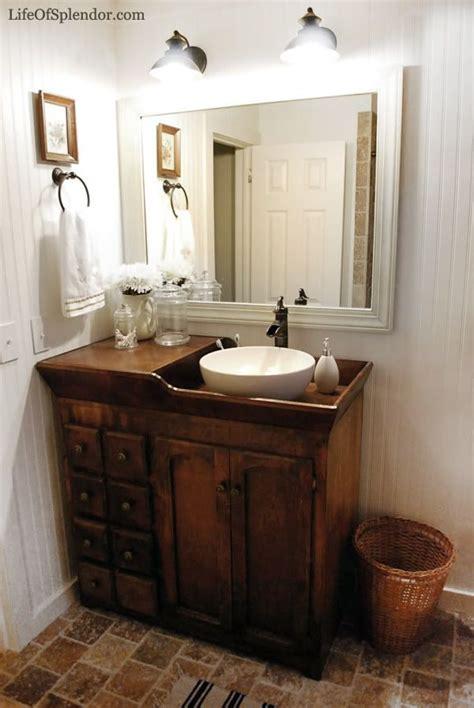 dry sink vanities   front door