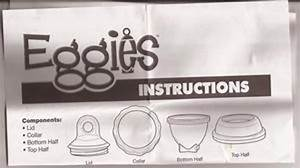 Free  Eggies Instructions Only  - Kitchen