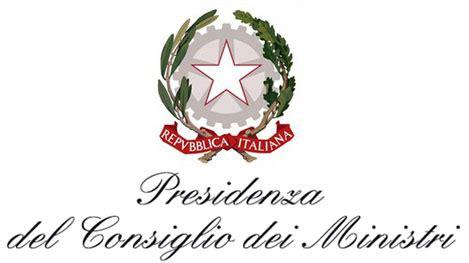 Logo Presidenza Consiglio Dei Ministri by Cogiovani 2014 Le Prime Graduatorie Csv Crotone