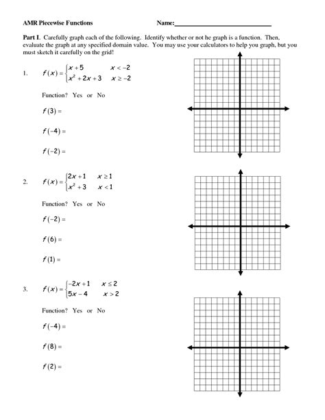 17 Best Images Of Graph Functions Worksheets Algebra  Function Tables Worksheets, Graph Inverse