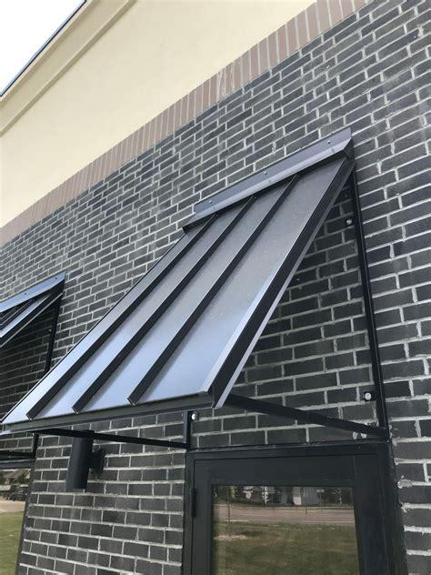 sheet metal awnings lakeville
