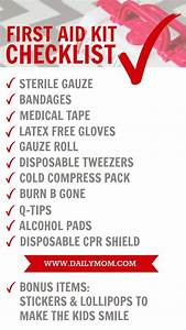 Mommy's First Aid Kit Essentials - Daily Mom