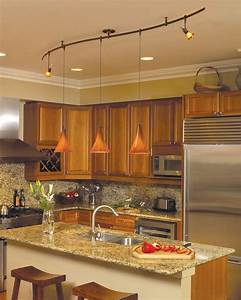 Wonderful Kitchen Track Lighting Ideas - MidCityEast