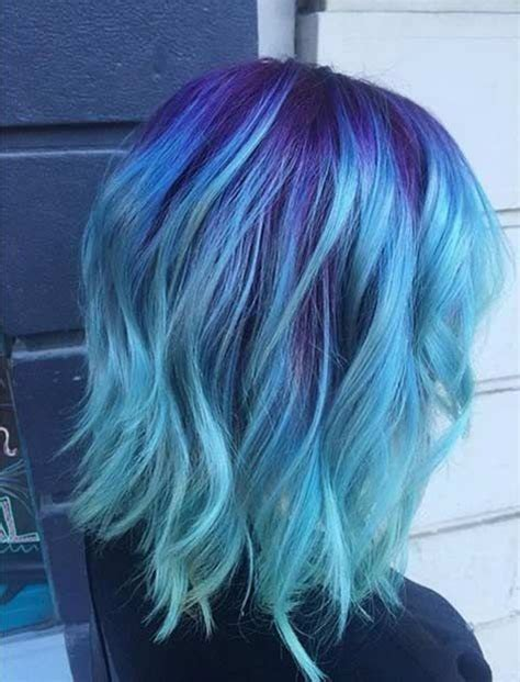 Blue And Hairstyles by 10 Intriguing Blue Hairstyles And Color Ideas 2019