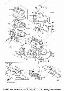 Yamaha Motorcycle 1999 Oem Parts Diagram For Intake