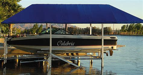 Boat Dock Canopy Covers by Boat Canopy Frame Rainwear