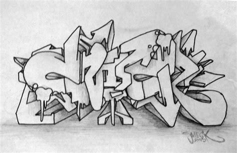 Graffiti Kertas 3d :  Cara Membuat Graffiti
