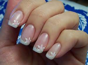 Simple wedding nail arthttp nails side spot