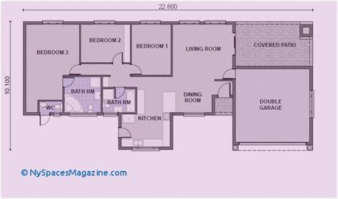 85 New 3 Bedroom House Plans South Africa