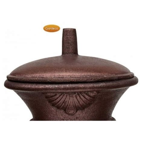 Chiminea Lid by Buy Gardeco Large Bronze Steel And Cast Iron Chiminea