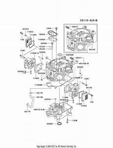 Kawasaki Fd501v Crankcase