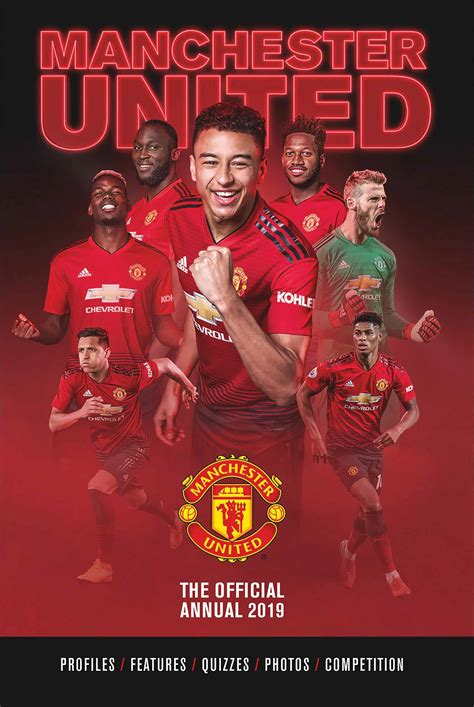 Манчестер юнайтед / manchester united. Manchester United FC Annual 2019 - Calendar Club UK