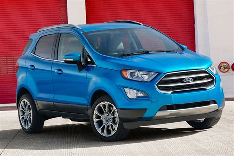 ford ecosport   review motor trend