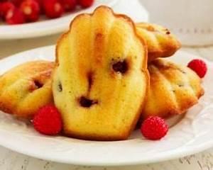 Patisserie Sans Sucre : madeleines sans sucre aux framboises recette recettes ~ Voncanada.com Idées de Décoration