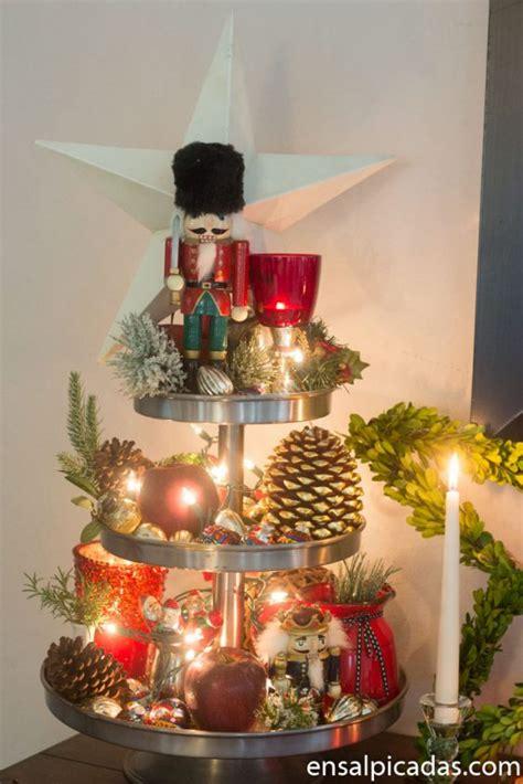 decoracion de navidad  ensalpicadas