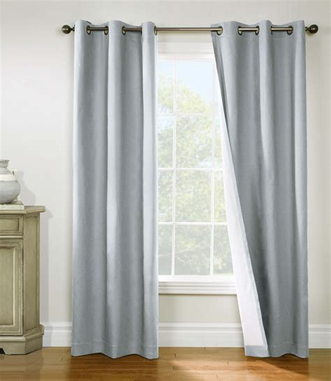 grommet top curtains weathermate insulated grommet top curtains thermal