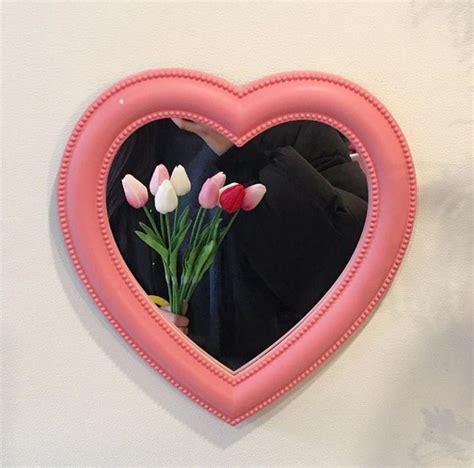 room decor mirror pink