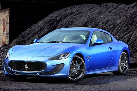blue maserati gallery blue maserati granturismo sport on the road
