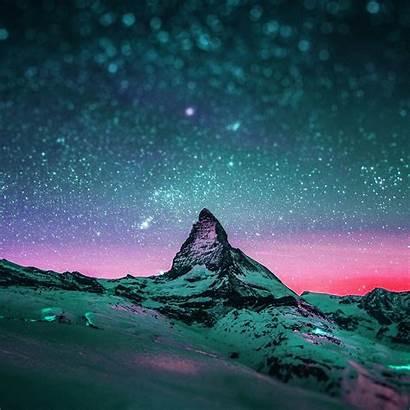 Ipad Sky Starry Night Stars Wallpapers