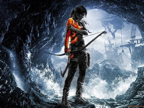 Dream fantasy fantasy art tomb of horrors dungeons and dragons game self design geek gear artwork painting gaming. Download Rise Of The Tomb Raider Game Wallpaper Wallpaper | Wallpapers.com