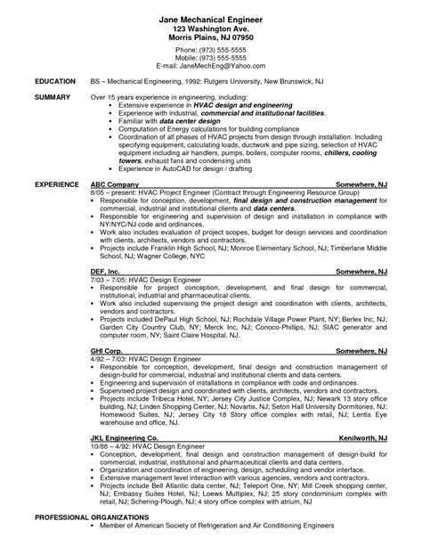 Hvac Maintenance Resume Sles by Doc 9271200 Best Hvac Installer Resume 65 For Your Free
