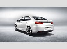 Citroen and Dongfeng Reveal AllNew C4 Sedan in China