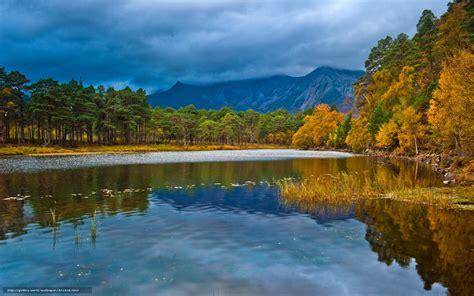 bureau paysage tlcharger fond d 39 ecran paysage lac fort automne fonds d