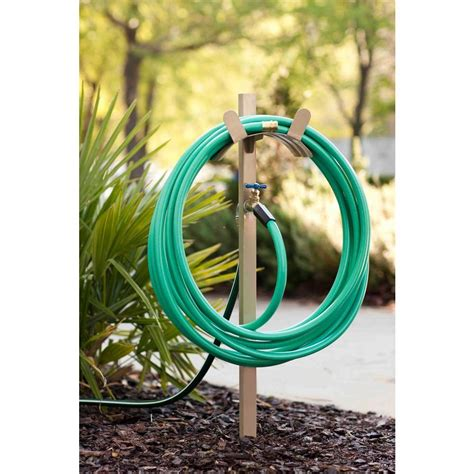 how can i get warm water from my garden hose home