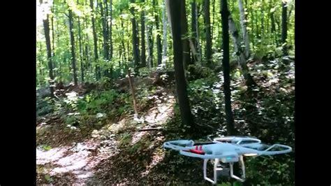 precision flying drone  forest dji phantom youtube
