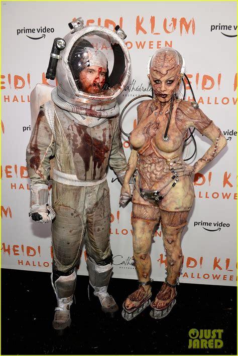 heidi klums halloween party   fun