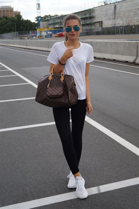 SPORTY OUTFIT FOR SCHOOL - Iva Nikolina Juric | classy casual u0026 cute | Pinterest | Sporty ...