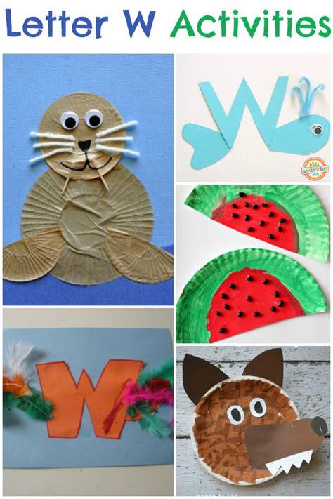 13 letter w activities 951 | Preschool Letter W Activities